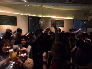 広島カウントダウンパーティー開催風景