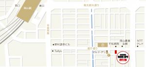 ムーブアップカフェ地図