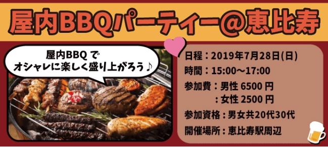 屋内BBQ東京カノープス