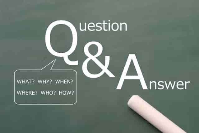 よくある質問のイメージ