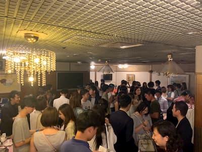 大規模パーティー写真1