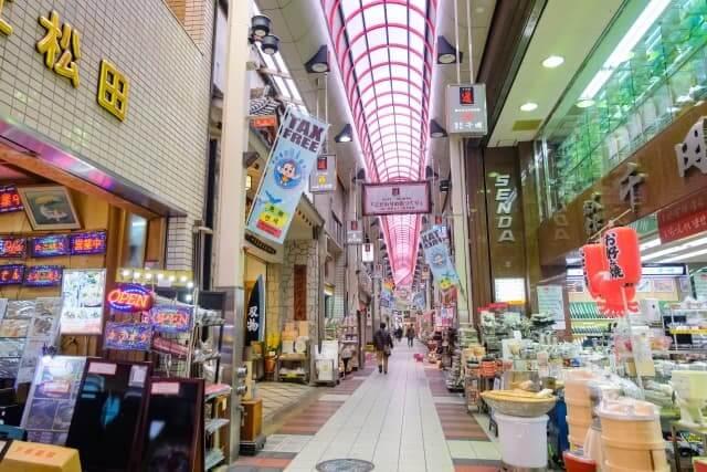 大阪千日前商店街の写真