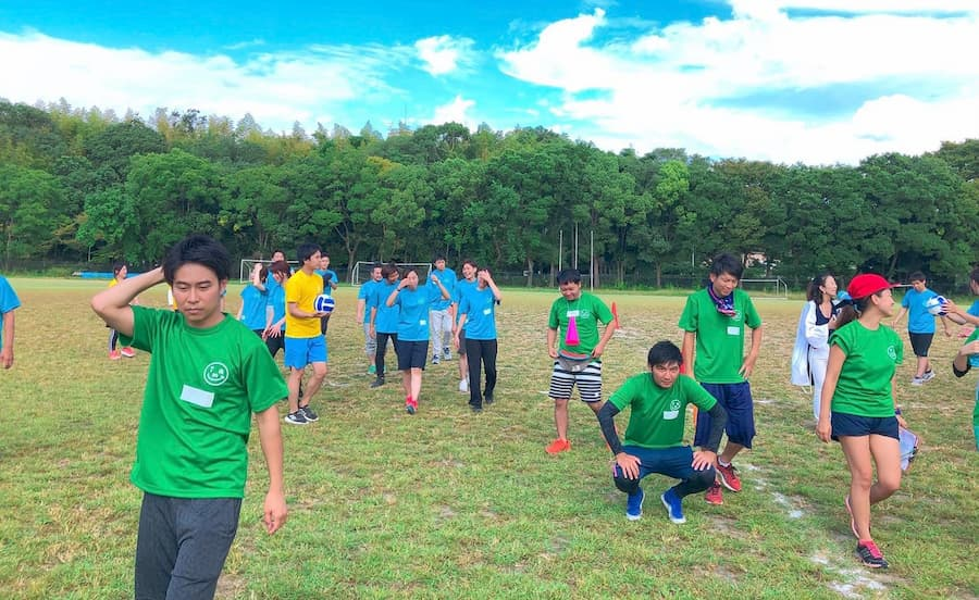 大人の運動会開催中写真2